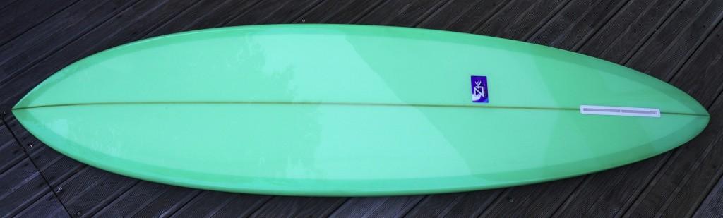 classic single fin